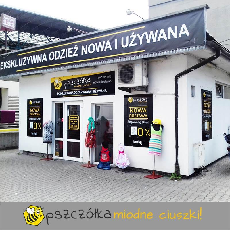 sklep pszczolka plac imbramowski